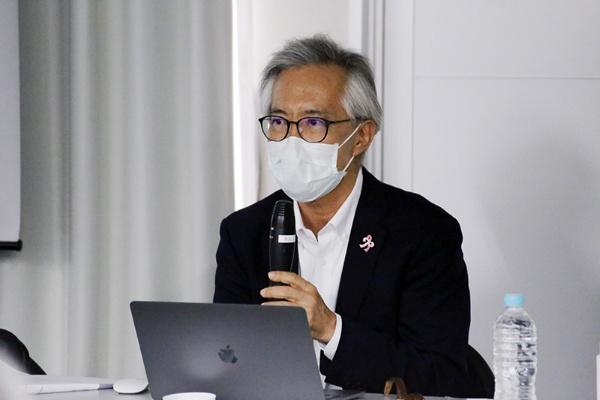 東京大学大学院医学系研究科教授の中川恵一さん