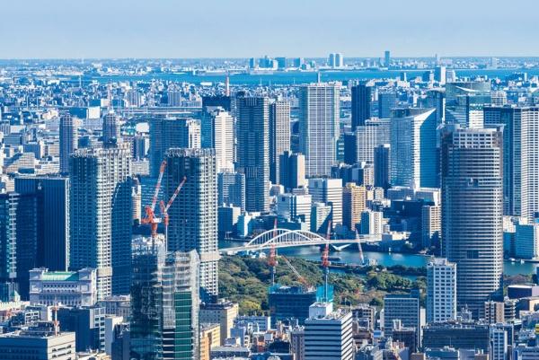 勝どきに並ぶタワーマンション群の1つが「勝どきちゃん」の住まい(写真はイメージ、PIXTA)
