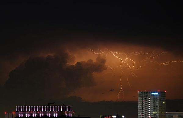 雷 大気の状態