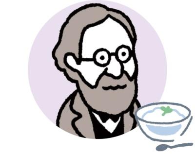イリヤ・メチニコフ(1845~1916)<br> コレラの感染予防に腸内細菌が役立つのではと考えた