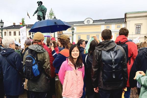 ジェンダーギャップ指数5位のスウェーデンで「性と生殖に関する健康と権利」について学びながら、日本のジェンダーギャップ解消に向けて取り組んでいる