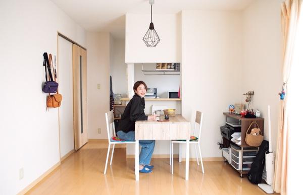 Nagomiさん(仮名・26歳)/理学療法士/福島県在住 「モノが減って、友人を呼ぶ頻度が高くなりました」