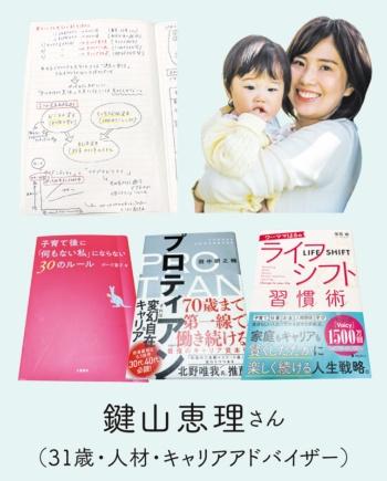 鍵山恵理さん(31歳・人材・キャリアアドバイザー)は「産休をブランクにしたくない」と考えた