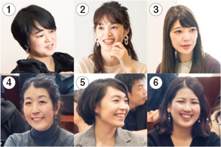 MBA取得を目指している6人の女性