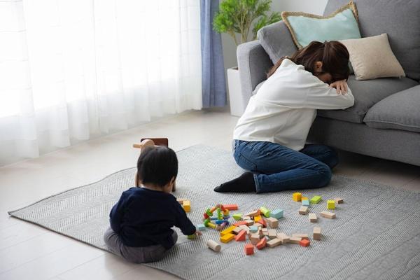 育児中の体調不良はできれば避けたいが…