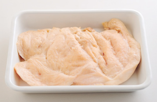 基本のレンチン蒸し鶏