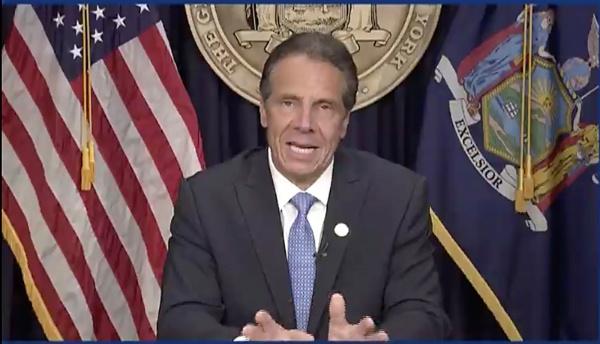 第56代ニューヨーク州知事アンドリュー・クオモ氏(写真/Office of the Governor of New York/AP/アフロ)