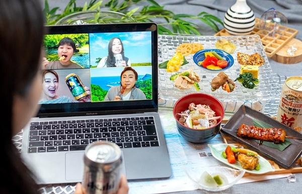 高級和食店とコラボして提供する「神田明神下みやび 夏の味覚プラン」を盛りつけた例(画像はnonpi提供)