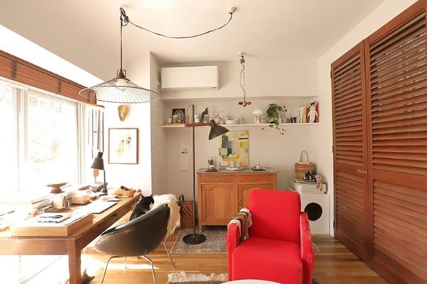 石井さんのご自宅には、リビングだけでも9個の照明があります