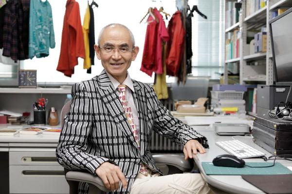 火山学・地球科学が専門の鎌田浩毅さん。2021年3月に京都大学を退官し、現在は京都大学レジリエンス実践ユニット特任教授・京都大学名誉教授