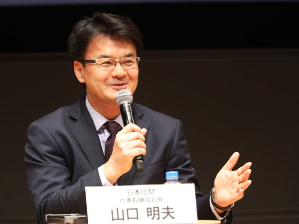 2020年版の女性が活躍する会社ランキングトップの日本IBM。「業績と同じくらいダイバーシティ推進は大事なんだと言い聞かせて、継続してきた」(日本IBM代表取締役社長 山口明夫さん)