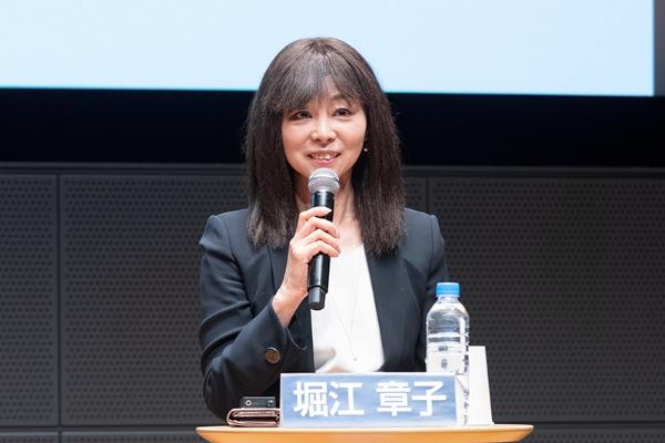 アクセンチュアのインクルージョン&ダイバーシティ日本統括の堀江章子さん