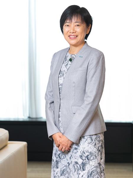 アフラック生命保険 取締役専務執行役員の木島葉子さん