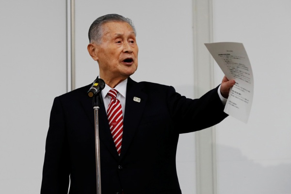 日本オリンピック委員会での不適切発言の翌日、2月4日の会見で森喜朗会長は「撤回しおわびしたい」と謝罪したが……