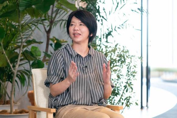 アマゾンジャパン 坂戸フルフィルメントセンター・サイトリードの佐藤涼子さん